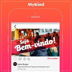 Estamos chegando! O MyKind é uma rede social para você viver experiências incríveis. Empreendedores: para você que trabalha com street food, conecte-se com os seus seguidores, converse com outros empreendedores e descubram novas tendências. Fale mais alto e mostre o que você faz para o mundo! Entusiastas: viva uma experiência completa com uma rede social que vai além do que você já conhece! Compartilhe seus posts, publique fotos e conheça mais pessoas pelo mundo com os mesmos interesses que…