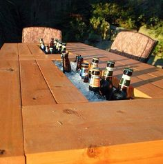 Keep your beer cool table