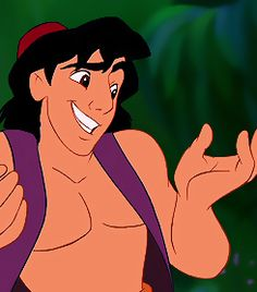 Day 4: My favorite prince is Aladdin.  Maybe simply because he was awesome enough that he got his own movie in a work full of Princess movies.  ;)