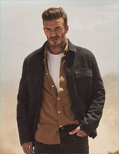 David Beckham fronts H&M's fall-winter 2016 Modern Essentials campaign.
