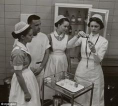 Pioneers: Bellevue Hospital was known for its pioneering techniques and producing some of the finest doctors and nurses in America with its training