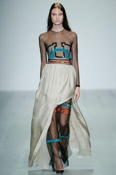 London Fashion Week Day 3 Marios Schwab Spring/Summer 2015  Ready to wear  14 September 2014