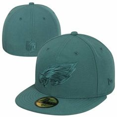 ded1c2a1344 New Era Philadelphia Eagles Basic 59FIFTY Fitted Hat - Midnight Green