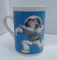 Disney Pixar Toy Story Buzz lightyear Ceramic Coffee Mug  Heros Of The Universe  #DisneyPixar find this and much more on eBay in ThenAndAgainTreasures store.