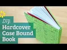 How to Make a Hardcover Book: Case Binding - YouTube