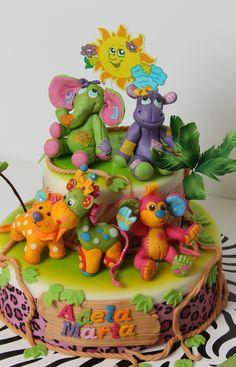 Cute Jungle Animals.