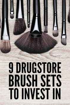 Best Drugstore Makeup Brushes: 9 Affordable Brush Kits to Invest In | Looking for the best makeup brush set dupes you can buy for less at your local drugstore? For perfect foundation, eyeshadow, concealer, brow, blush, contour, and highlight application, you need the right brushes, and we've rounded up 9 budget-friendly sets that are worth your investment. #drugstoremakeup #drugstorebeauty #drugstorefinds #beauty #makeup #makeupbrushes #makeupbrushsets #makeupbrushestools…