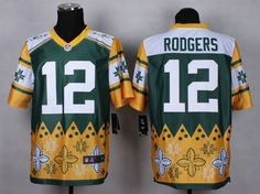"""$35.88 at """"MaryJersey""""(maryjerseyelway@gmail.com) Nike Packers #12 Aaron Rodgers Green Men's Stitched NFL Elite Noble Fashion Jersey"""