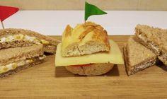 Receita de Lanche vegetariano para crianças #comida #receita #vegetariano #sanduíche #lanche #criança