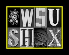 Wichita State Go Shox Basketball Print by a2zphotography on Etsy see more at www.facebook.com/a2zphoto