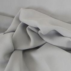 bff Chiffon Georgette Light Pewter Fabric