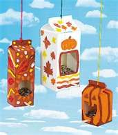 bird feeders  (Maybe this should have been pinned in my pet or kid category.)