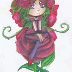 Rose Seedling - Sitting looking pretty