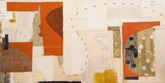 """Melinda Tidwell, 'Why? Why? Why?', Collage on cradled board, 15"""" x 30"""" 