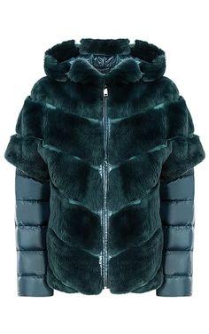 Жакет-трансформер из меха кролика Virtuale Fur Collection 181446000 Fur Fashion, Winter Fashion, Fashion Outfits, Womens Fashion, Winter Dresses, Winter Outfits, Coats For Women, Jackets For Women, Down Coat