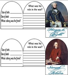 American Revolution 1775 - 1783. Free Printables!  CC, C3, W4 - Declaration of Independence Week
