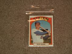 1972 Topps #269 Don Hahn Mets Baseball Card (Sports, Collectibles, NY, EXMINT)  #NewYorkMets