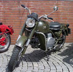 Moto Guzzi Falcone green vl