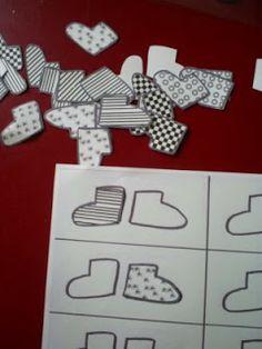 assembler les chaussettes par paires