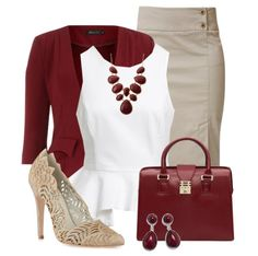 Love this outfit! Get the red teardrop necklace and earrings here- http://thechicsociety.com/collections/sale/products/tear-drop-earring-necklace-set-1