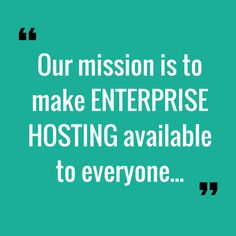 Pressidium's mission on making Enterprise level managed WordPress hosting available to everyone.