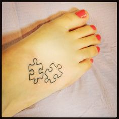 Tattoo I just got for autism. OBSESSED.