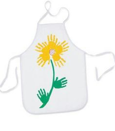 Apron for kids to make mommy