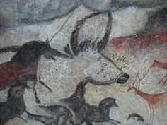 Lascaux, replica in the Brno museum Anthropos