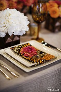 WedLuxe Beauty of Batik African Wedding Theme, African Theme, African Weddings, Nigerian Weddings, Wedding Humor, Chic Wedding, Wedding Day, Zulu Wedding, Wedding Flowers