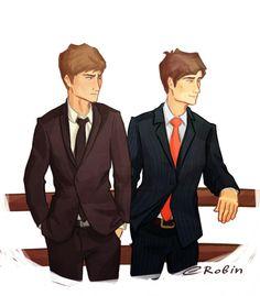 Gansey and Adam