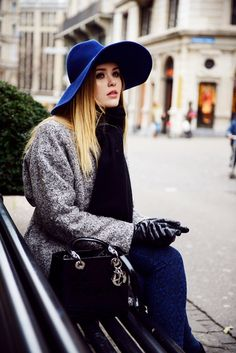 Kristina Bazan: 6 Stylish Winter Hats for Your Street Style