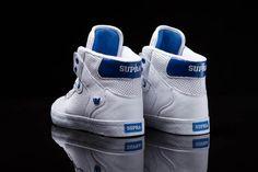 Supra Vaider Ash White Blue 4