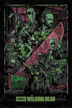 The Walking Dead. Credit belongs to the artist.
