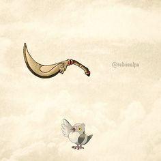 No. 519 - Pidove. #pokemon #pidove #boomerangblade #pokeapon