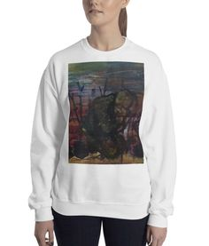 Purchase a sweatshirt to support refugees in Uganda. With every purchase, a portion of the sales goes towards transforming these refugees into entrepreneurs. Available in multiple colors. Uganda, Online Printing, Sweatshirts, Colors, Sweaters, Stuff To Buy, Fashion, Moda, Fashion Styles