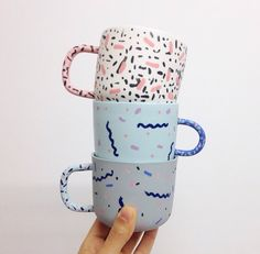 Just discovered @jackson_leah ceramics on Instagram. She makes the prettiest mugs ever