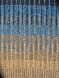 Close-up of Krokbragd rug.