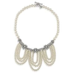 Necklace Swag | Ladylike Beauty Pearl | Carolee.com