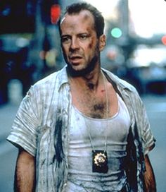 Bruce Willis - I mean come on, Die Hard. Enough Said...