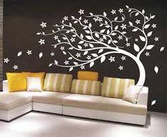 diseños en paredes arboles - Buscar con Google
