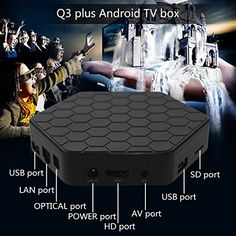 Leelbox-tech Q3 plus Android 6.0 Tv Box Octa-core/2GB/16GB/2.4GHz+5.0GHz Dual-Band Wi-Fi 1000M LAN | Streaming Media Player Reviews