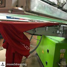 . @Regrann from @moxie3dreambig -  Tackling someone sleeve prints on the roq tonight! #moxie #moxie3 #moxie3printing #screenprint #silkscreen #shirtprinting #tshirtprinting #sleeveprints #sleeves #roq - #regrann