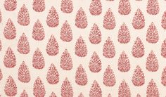 Duralee Fabrics    John Robshaw Print Collection  Print Collection - book # 2846    Pattern/Color: 21040-794  Description: Madder