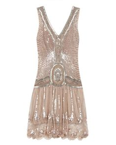I love this pattern and style. I really like all the light nude type colors from the 20s era