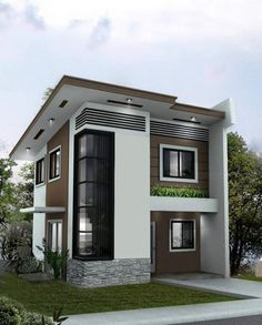 Two Story House designs are best fitted for narrow lots Sheryl is