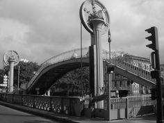 Le Pont levant de la rue de Crimée, Paris 19ème arrondissement