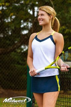 cbae8880cd Check out Fila's newest women's tennis apparel collection for fall 2018.  The Fila Argyle tennis