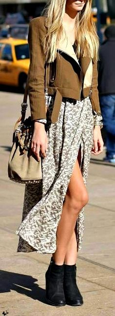 Springtime has arrived, let those legs breathe! #FabFashion #GottaHaveIt #Springdress