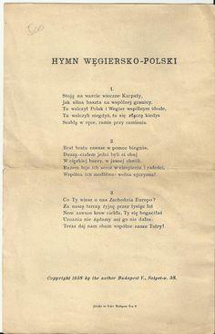 Hungarian-Polish Anthem