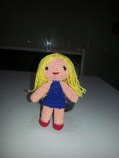 mi muñequita rubia